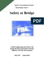 7 Safety at Bridges