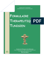 formulaire thérapeutique tunisien 2Ed