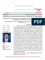 Environment and Health Implications of E-wastes and Its Management