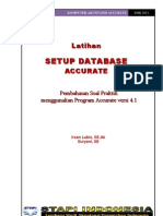 Modul Latihan Setup Database Accurate