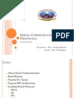 Serial Communication Protocols v0.1