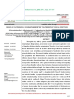 Design of Clotrimazole Derma Sticks for the Treatement of Topical Infections