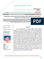 Optimization of Lead Adsorption Using Animal Bio Polymers by Factorial Design