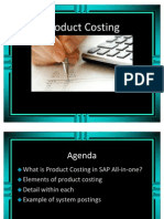 SAP CO-PC Product Costing in SAP ERP6.0 one