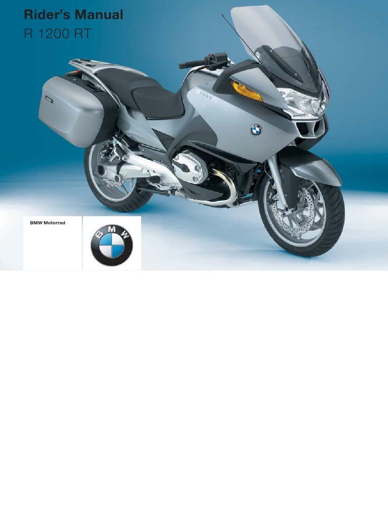 BMW R 1200 RT - Nov. 2004 Onward - Model Code 0368 | Anti Lock Braking  System | Headlamp