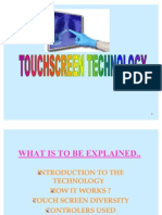 Touchscreen Technology Presentation