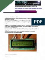 'afficheur LCD