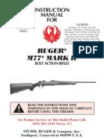 Ruger 77 Manual