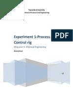 Experiment 1- Process Control Rig