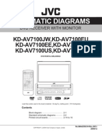JVC KD-AV7100 Diagrama Esquematico