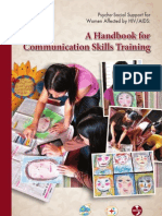 A Handbook for Communication Skills Training