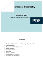 Ch11 Water and the Hydrosphere