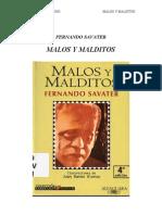 Savater Fernando - Malos y Malditos