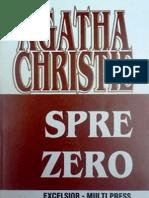 Agatha Christie- Spre Zero