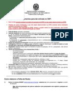 Documentos do Comite de Ética[1]