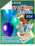 24 Handmade Craft Ideas From 2010 eBook