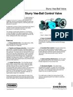 Slurry V150S Ball Valve Product Bulletin