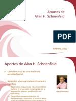 Aportes de Schoenfeld