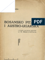 Ante Malbasa - Bosansko Pitanje i Austro-Ugarska
