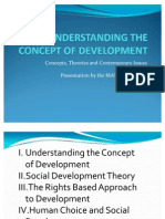 Understanding the Concept of Development