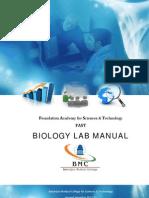 1_Biology Lab Manual - 2nd Sem 2011-2012