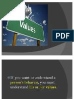 Values&Attitudes