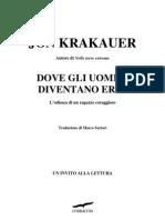 Krakauer - Dove Gli Uomini