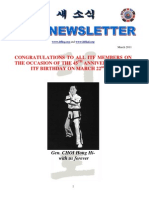 ITF Newsletter 2011 March