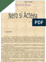 Alexandre Dumas- Nero Si Acteea