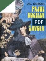 Alexandre Dumas- Pajul Ducelui de Savoia