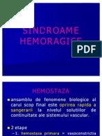 SINDROAME HEMORAGICE c3