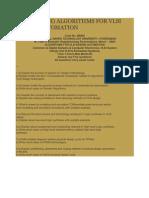 JNTUH Algorithms for VLSI Design Automation Mar2009 Paper