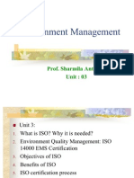 Environment Management Chapter3
