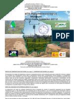 Boletín Agrometeorológico Mensual Pronóstico FEBRERO 2012