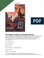 The Highest Treason by Randall Garrett