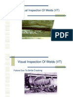 Visual Inspection of Welds