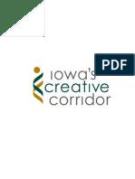 Iowa's Creative Corridor Logo (Color)