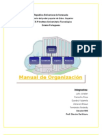 Nuevooo ModificacionTrabajo Manual de Organizacion