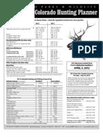CO 2112-2013 Hunt Planner