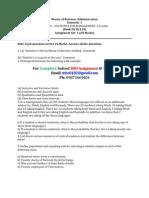 sOLVED, MB0040 – STATISTICS FOR MANAGEMENT