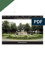 Entwerfen/Konstruktion - Semesterarbeit 5.1