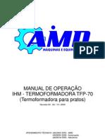 Manual de operação Termoformadora TFP