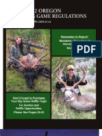 2012 OR Big Game Hunting Brochure