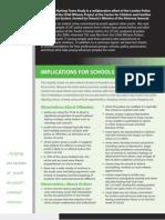 THT Factsheet Schools
