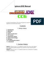 DigimonDotEXE Manual