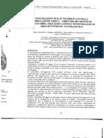 Integrazione di dati telerilevati nella modellazione object-oriented dei sistemi di salvaguardia, riqualificazione e monitoraggio di aree di interesse naturalistico