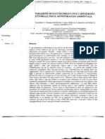 Integrazione di dati telerilevati e cartografia vettoriale per il monitoraggio ambientale