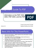 Beginner's Guide to PSP v4.0