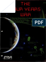 Star Trek - Source Book] the Four Years War