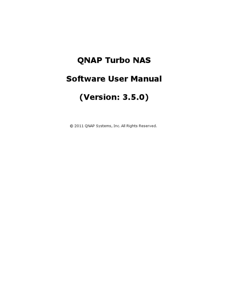 Qnap Turbo Nas User Manual v3 5 Eng | Ip Address | Computer Network